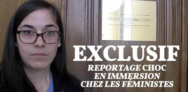 EXCLUSIF — Reportage CHOC, en immersion chez les féministes