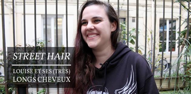Street Hair — Louise et ses (très) longs cheveux