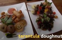 Le donut tarentule, la friandise qui donne envie DE MOURIR