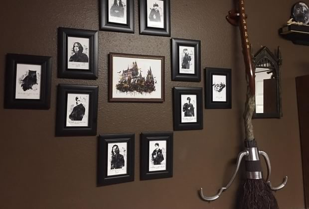 La chambre de b b th me harry potter la plus magique des mignonneries - Deco chambre harry potter ...