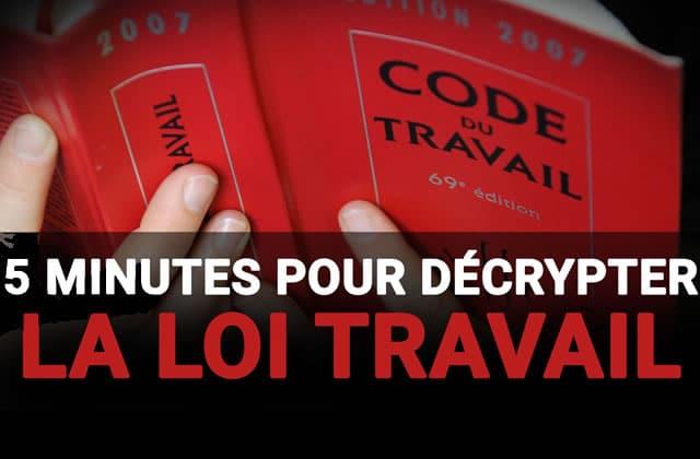 HugoDécrypte le projet de «loi Travail» en 5 minutes