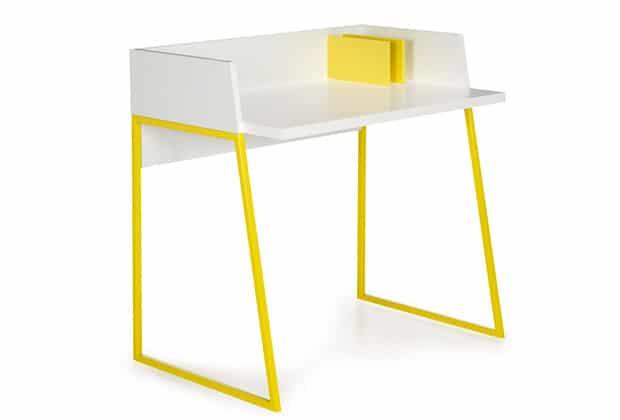Sélection déco pour un salon jaune citron