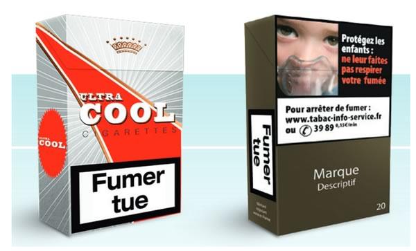 le paquet de cigarettes neutre s 39 installe en france en 2017. Black Bedroom Furniture Sets. Home Design Ideas