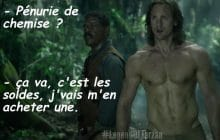 « The Legend of Tarzan » a un nouveau trailer, à base de Alexander Skarsgård torse nu