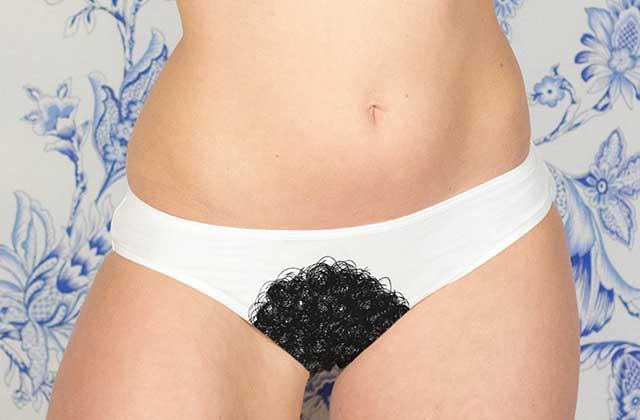 La lingerie OSEZ met les poils pubiens à l'honneur pour le 8 mars !