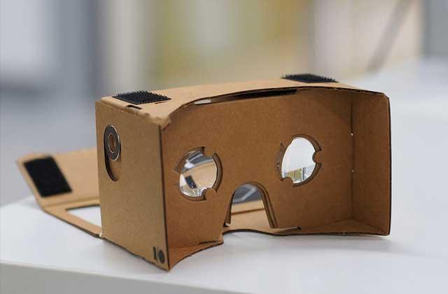 Regarde des vidéos en réalité virtuelle à 360° grâce à… des lunettes en carton !