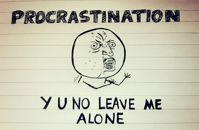 La procrastination, ça a (parfois) du bon!