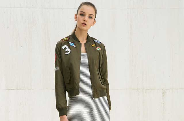 Sélection de bombers, harrington et teddies cool pour le printemps 2016