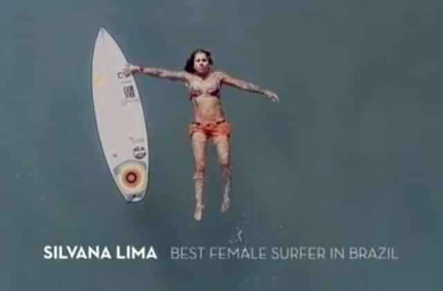La surfeuse Silvana Lima refusée par des sponsors… car elle n'est «pas assez jolie»