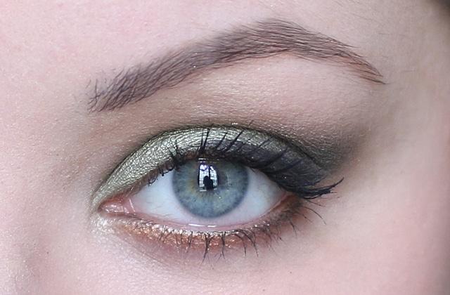 Exceptionnel beauté — Maquillage de soirée avec les fards à paupières Colorful  GW49