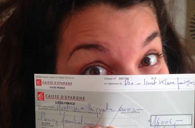 Le livret de Klaire fait Grr va rapporter 14000€ au Planning familial