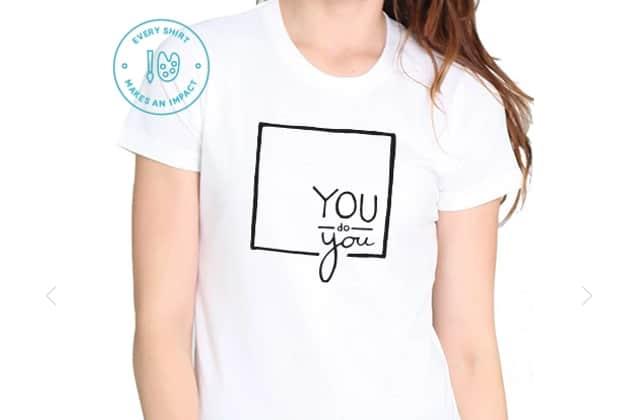Shailene Woodley encourage les jeunes à aimer leurs différences avec les t-shirts «You do You»