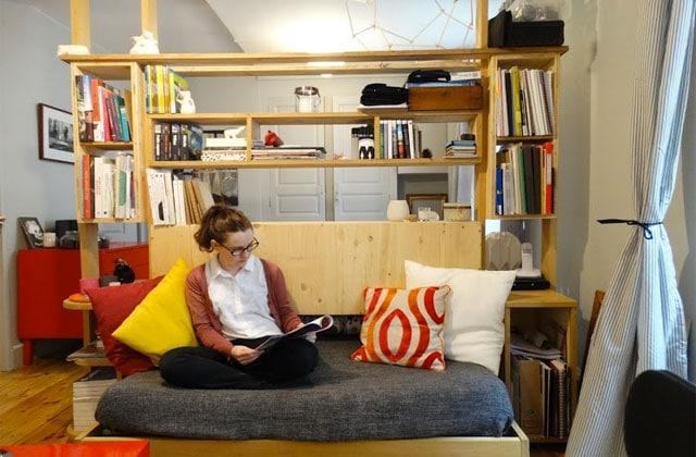 Dans l'appart d'Erin, étudiante en BTS Design d'espace à Clermont-Ferrand