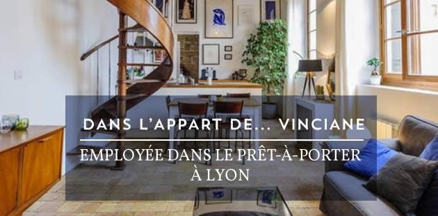 Dans l'appart de Vinciane, employée dans le prêt-à-porter à Lyon