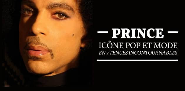 Prince, icône pop et mode, en 7 tenues incontournables