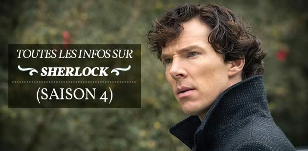 «Sherlock» saison 4, c'est parti:«the game is on»!