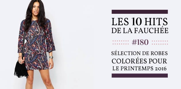 Sélection de robes colorées pour le printemps 2016—Les 10 Hits de la Fauchée #180