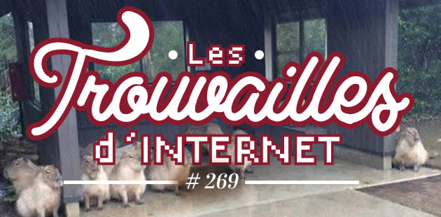 Les trouvailles d'Internet pour bien commencer la semaine #269