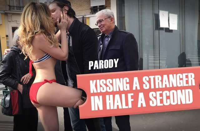 NOU apprend ENFIN aux mecs comment embrasser une fille dans la rue en un clin d'œil