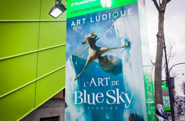Les créateurs de «L'Âge de glace» en interview au musée Art ludique