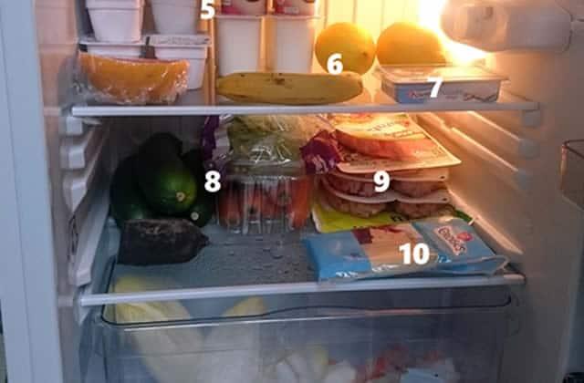 Dans le frigo de… Mélanie!