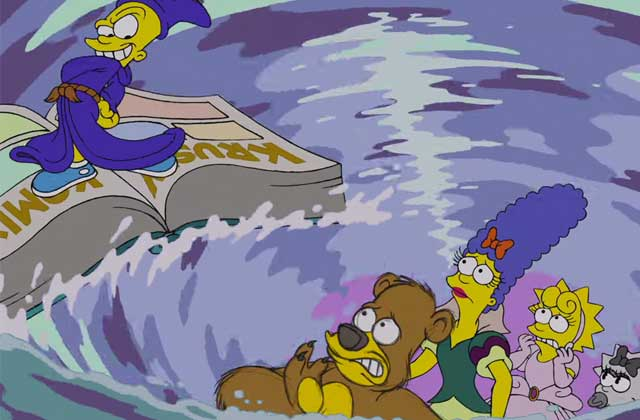 Disney s'invite chez les Simpson avec un couch gag dédié