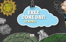 Le free cone day c'est aujourd'hui (spoiler alerte: c'est de la glace gratuite)