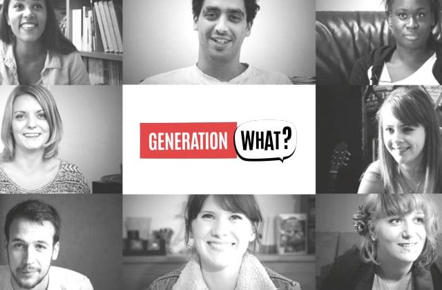 «Generation What?», l'enquête sur la jeunesse européenne, passe à la télé!