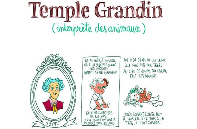 Mary Temple Grandin, interprête des animaux—Les Culottées, par Pénélope Bagieu