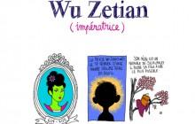 Wu Zetian, impératrice de Chine déterminée—Les Culottées, par Pénélope Bagieu