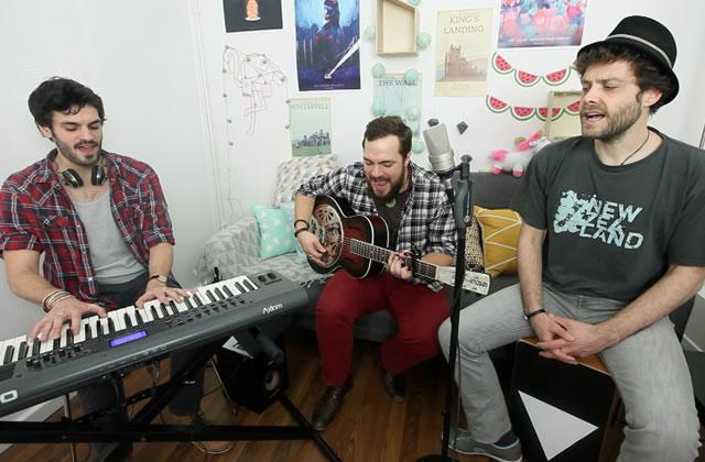 Lloyd Project interprète «Shelter» en acoustique