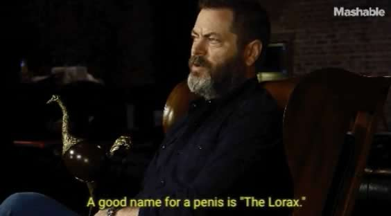 nick offerman penis