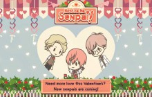 «Notice me Senpai», le «Neko Atsume» version café et mecs mignons