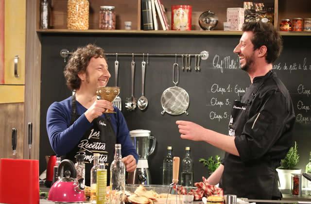 « Les Recettes Pompettes » débarquent en France  Monsieur Poulpe cuisine  bourré avec Stéphane Bern !