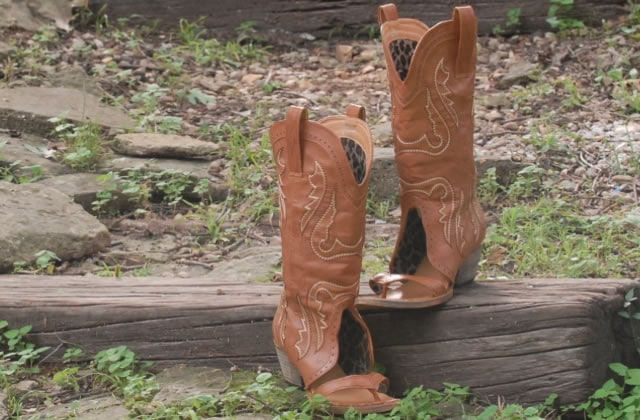 Les Redneck Boot Sandals, la décapotable de la santiag — WTF Mode