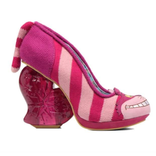 les chaussures alice au pays des merveilles d 39 irregular choice sont chez sarenza. Black Bedroom Furniture Sets. Home Design Ideas