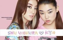 Shu Uemura s'associe à la marque Kye pour une ligne de maquillage colorée