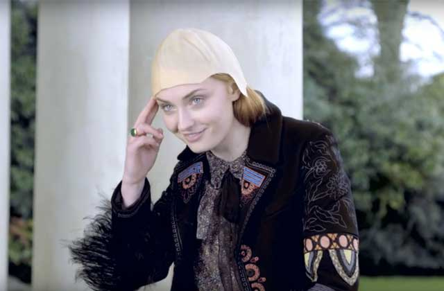 Sophie Turner (Sansa de « Game of Thrones ») imite Jon Snow, Wolverine et double Justin Bieber !