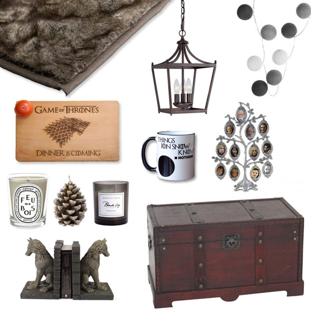 Get the d co la maison stark de game of thrones for Decoration maison games
