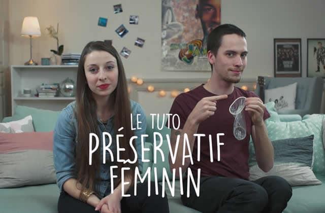 Les préservatifs masculin & féminin expliqués en tutos vidéos!