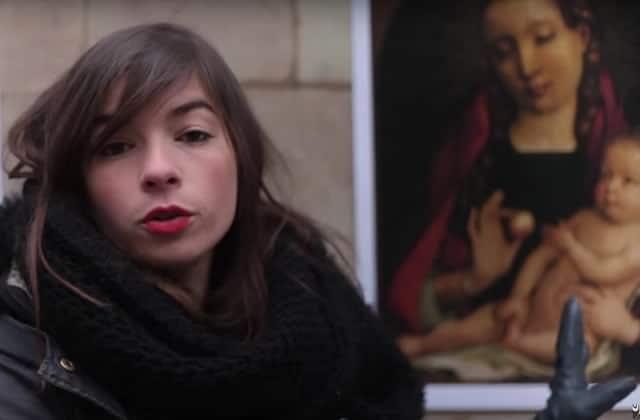 Manon Bril, de «C'est une autre histoire», décrypte «La Vierge à l'Enfant »