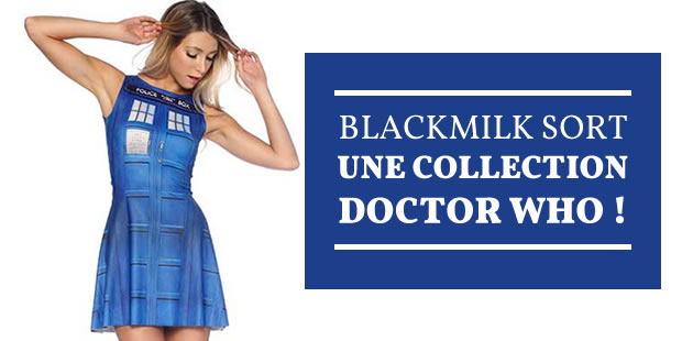 Black Milk sort une nouvelle collection Doctor Who !