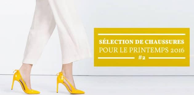 Sélection de chaussures pour le printemps 2016 #2