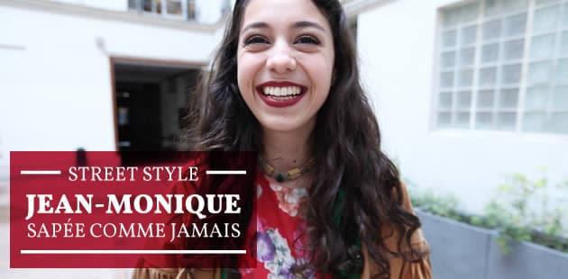 Street Style—Jean-Monique sapée comme jamais