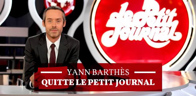 Yann Barthès quitte le Petit Journal et atterrit chez TF1