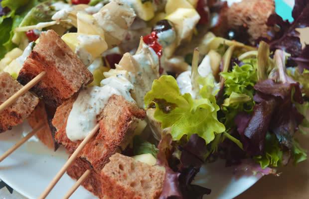 recette brochettes végétariennes