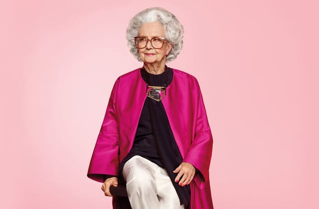 Une centenaire embellira les pages du «British Vogue» pour les 100 ans du magazine