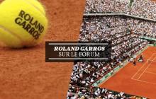 Commente Roland Garros 2016 sur le forum!