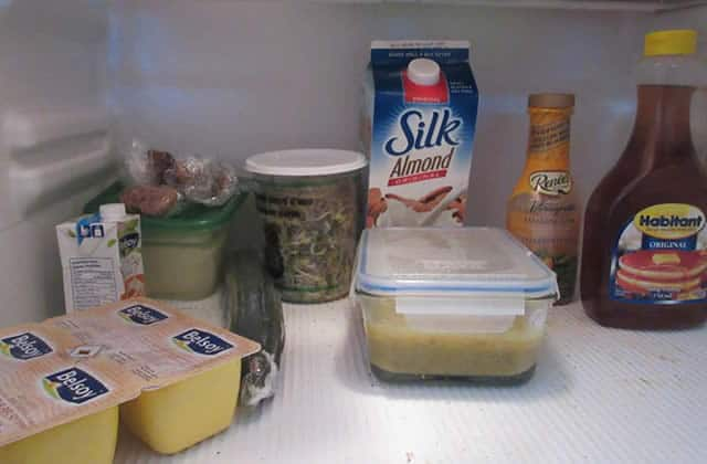 Dans le frigo de… Mathilde étudiante végane au Canada