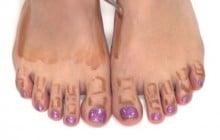 Le foot contouring, tendance beauté spéciale pieds (et un poil WTF)